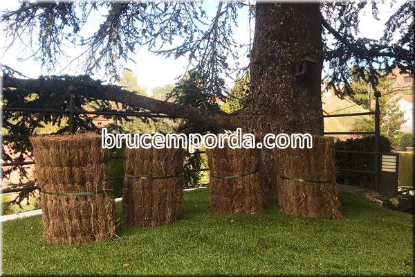 Rollos de brezo natural